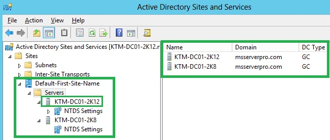 From windows server 2008 r2 to windows server 2012 ms server pro