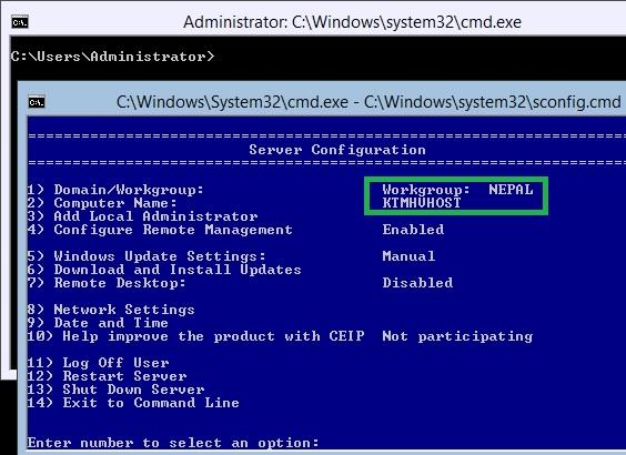 Installing and Configuring Microsoft Hyper-V Server 2012 for