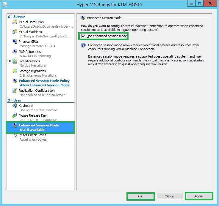 Support for USB access in Windows Server 2012 R2 Hyper-V through