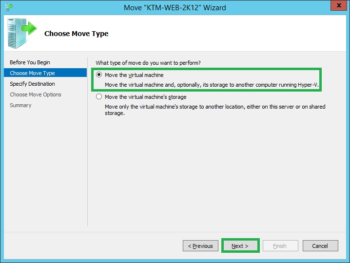 Configuring Share Nothing Live Migration In Windows Server