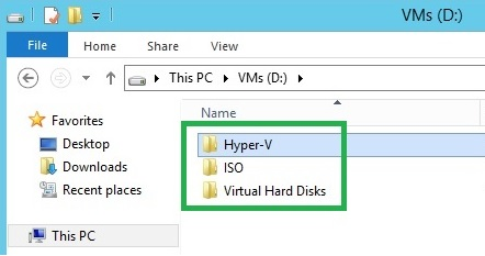 Hosts Consistent in Hyper-V