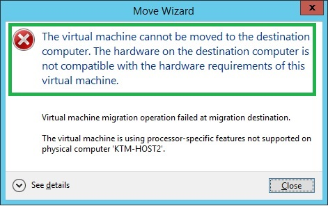migration error message