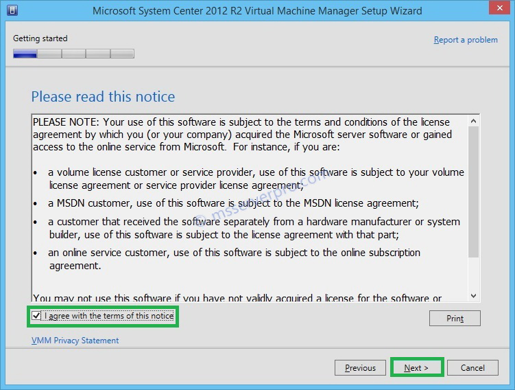 Installing the Virtual Machine Manager (VMM) Console on