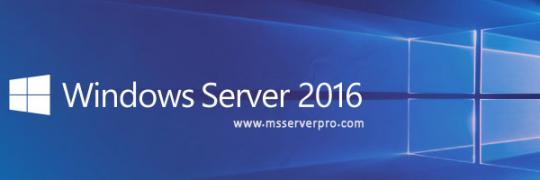 windowsServer2016
