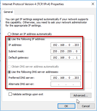 Installing Active Directory Domain Controller on Windows
