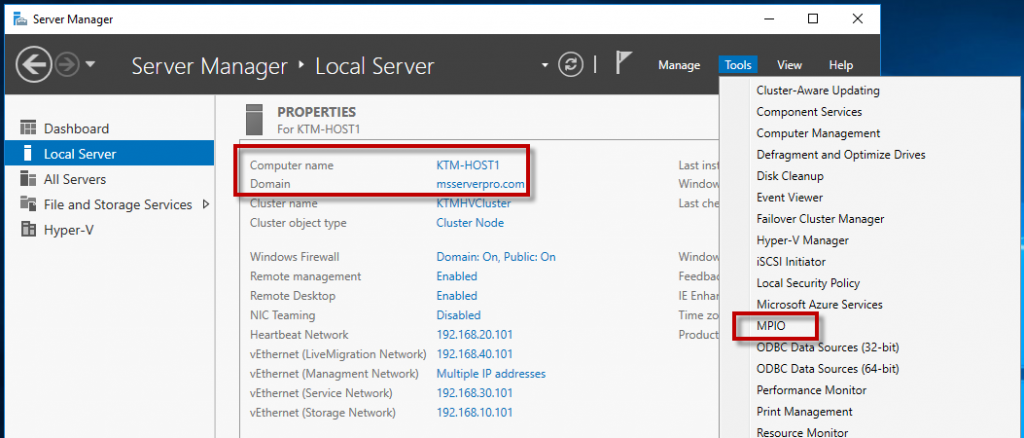 Configuring iSCSI Storage and Initiator in Windows Server